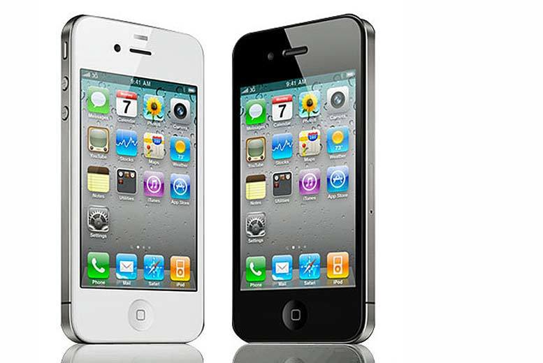 £59 (from Renew Electronics) for an 8GB iPhone 4, £64 for a 16GB iPhone 4, £69 for an 8GB iPhone 4S, or £79 for a 16GB iPhone 4S