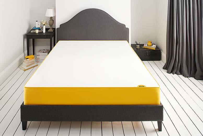 £149 instead of £250.01 (from eve Sleep) for a rejuvenated single eve™ mattress, £199 for a double, £279 for a king or £359 for a super-king - save up to 40%