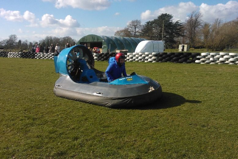 £39 instead of £79 for a hovercraft experience from High Cross Hovercraft - save 51%