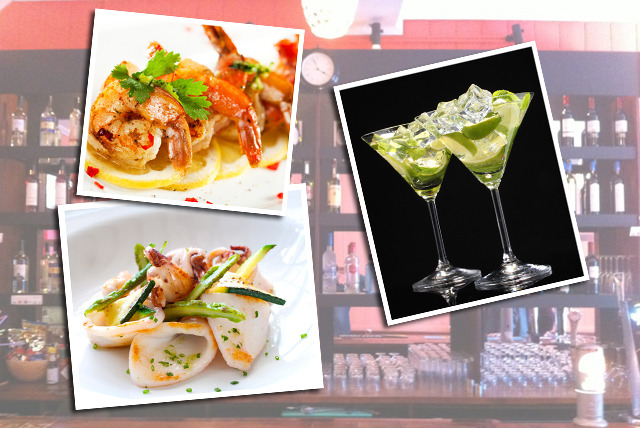 £15 instead of up to £34.40 for a seafood meze platter & 4 cocktails to share between 2 at Meze & Cocktail Bar Battersea - save up to 56%