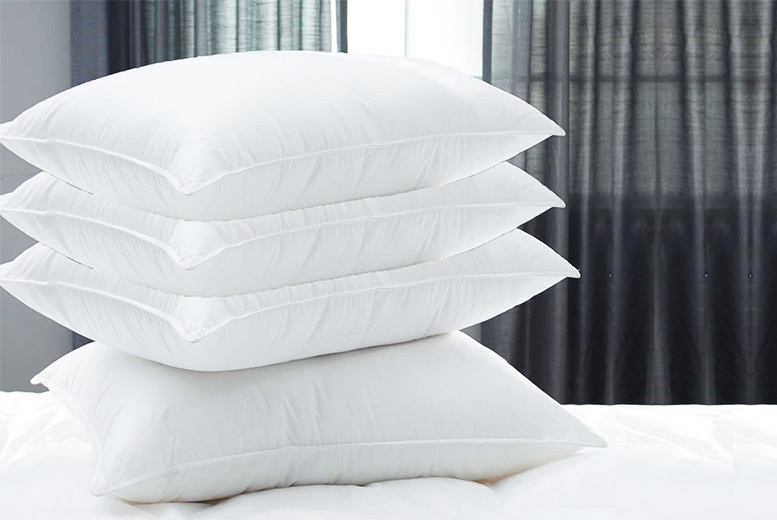 £9.99 instead of £79.99 (from Diana Cowpe) for two hotel quality duck feather and down pillows - sleep super soundly and save 88%