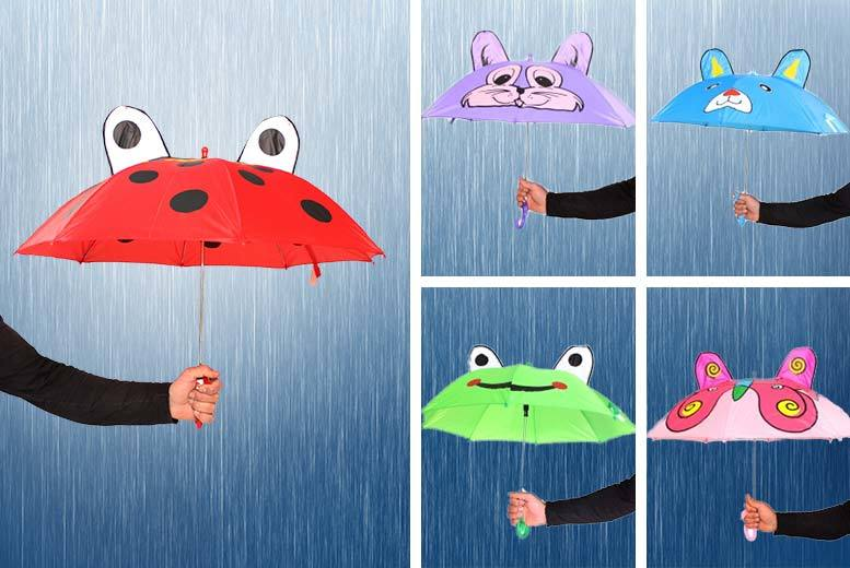 £4.99 instead of £19.99 (from Toy Loco) for a kid's animal umbrella - Save 75%