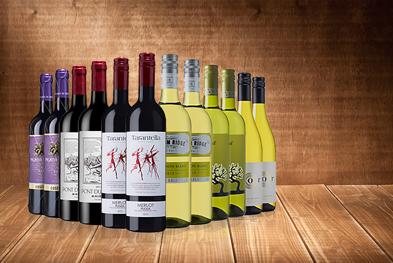 £49 (from Laithwaite's Wine) for 12 bottles of white or red wine - DELIVERY ONLY £1!