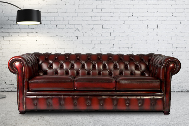 £299 instead of £1,500 (from Leather Fabric Sofas) for a 2-seater Chesterfield sofa, £449 for a 3-seater or £693 for both - save up to 80%