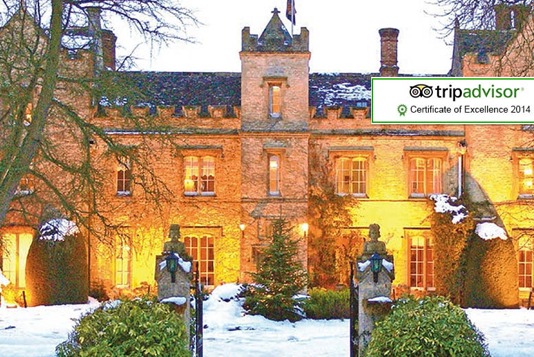 £79 instead of up to £215 (from The Manor at Weston-On-The-Green) for a 1-night stay inc. Prosecco & breakfast for 2 - save up to 63%