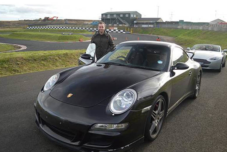 £29 for 3 passenger laps, £79 for 3 laps & 3 hotlaps, £129 for 5 laps & 3 laps with Supercars Scotland - save up to 71%