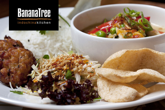 £19 instead of £38.70 for an Indochinese meal for 2 including starters, mains and sides at the Banana Tree in Bayswater - save a spicy 51%