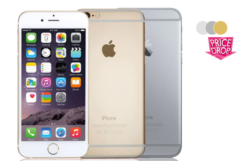 £289 (from Handtec) for a 16GB Apple iPhone 6, £314 for a 64GB or £369 for a 128GB