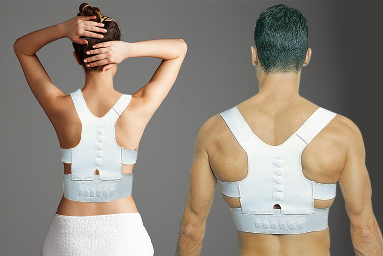 Spiked by analyst 16/01 £2.99 instead of £38 (from ViVo Mounts) for a magnetic back and shoulder 'posture corrector' support vest - save 92%