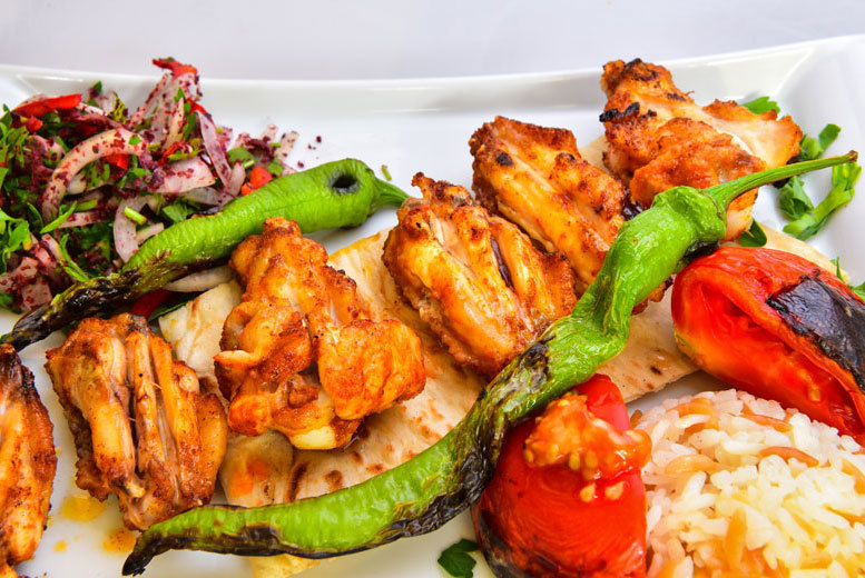 £9 instead of £11.50 for a Mediterranean all you can eat buffet for one, £17 for two at Efes Taverna, Manchester City Centre - save up to 22%