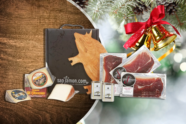 £39 instead of £78 (from San Jamón) for a Viriato Hamper or £59 for an Emily Hamper inc. ham, cheese, olive oil & more - save up to 50%