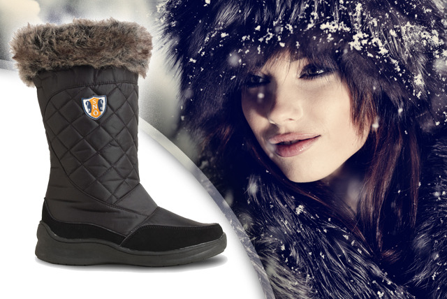 £24.99 instead of £49.99 (from Derby House) for a pair of Snö Polar boots - keep your feet cosy this winter and save 50%