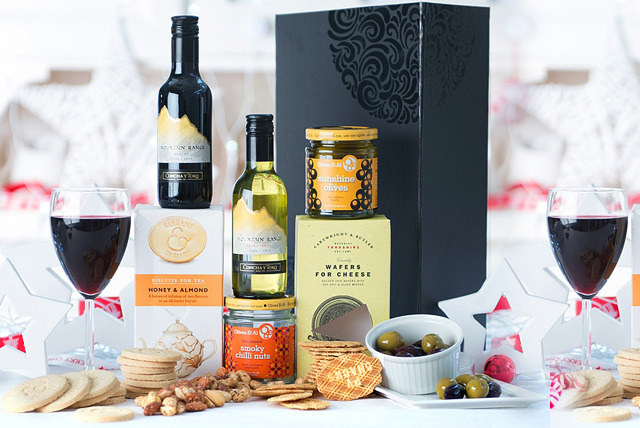 £29.50 instead of £38.99 (from Debenhams Flowers) for a gourmet Christmas food and drink hamper OR a red wine and chocolate gift box - save 24%