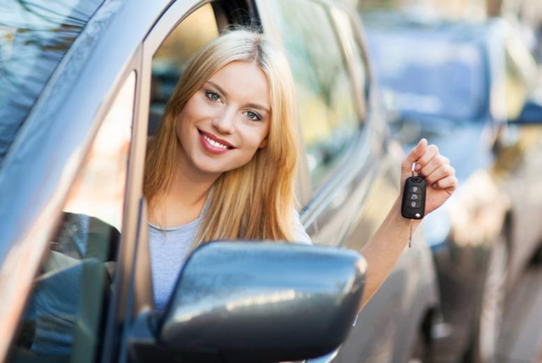 £19 for 4 hours of beginner driving lessons in a choice of 39 UK locations with ADI Network, £24 to include an online theory test tool - save up to 82%