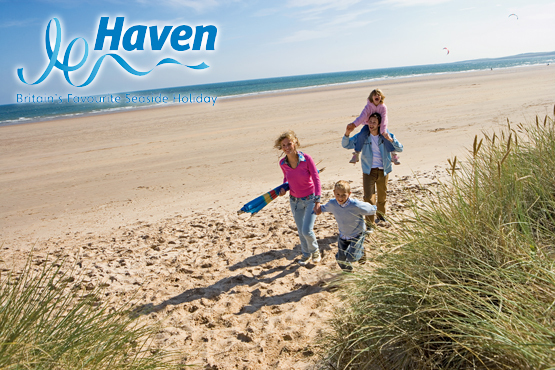 From £69.50 per caravan for either a 3 nt weekend or 4 nt midweek break for up to 6 people at one of 32 Haven Holiday parks - save up to 41%