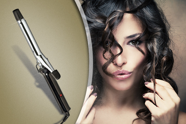 £9.99 instead of £39.99 (from BlushLook) for a 13mm or 19mm hair curling tong - give yourself a new look and save 75%
