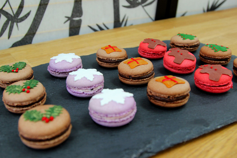 £12 instead of £30 for a Christmas macaron decorating class at Super Cute Macarons - save 60%