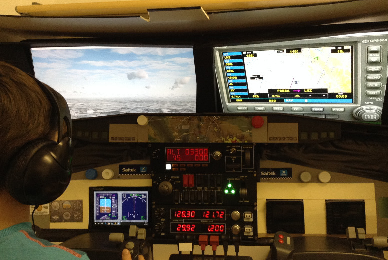 £29 for a one hour flight simulation experience in London from Fly Air Aviation Academy (UK) Ltd