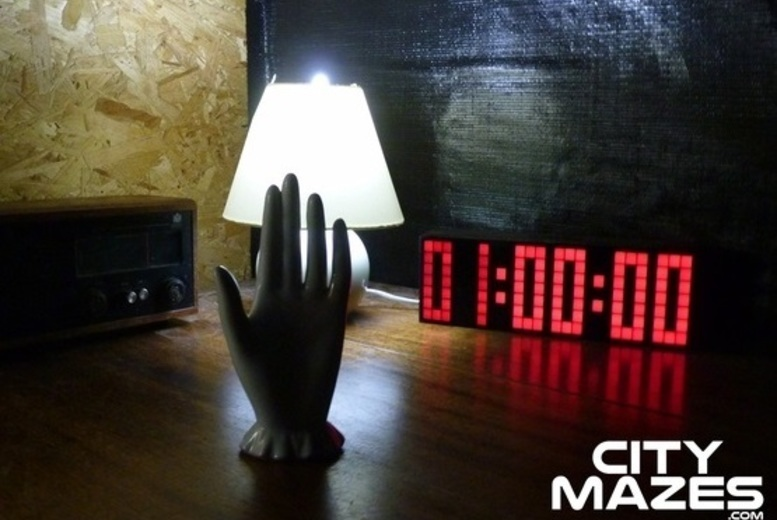 From £49 for a 'real-life' city escape game with City Mazes, Bristol, Cardiff or Oxford - enjoy as a group of four, six, eight, 16 or 24 people and save up to 51%
