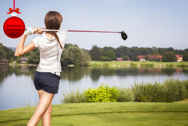 £18 for three 1-hour beginner golf lessons, £36 for six 1-hour intermediate lessons/four 90min lessons at Oakmere Park Golf Club - save up to 60%