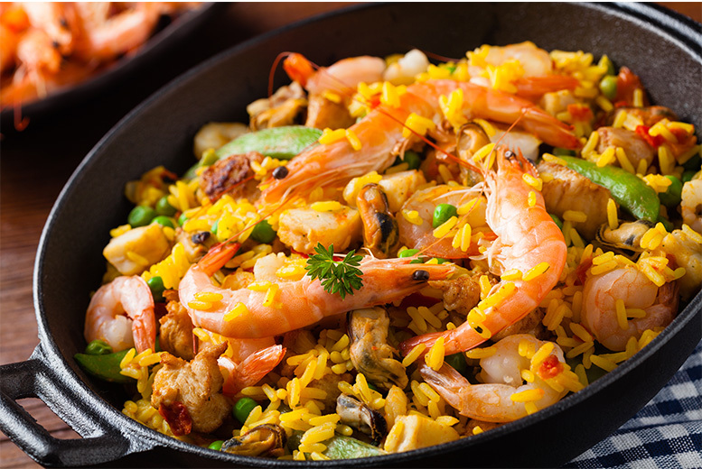 £19 instead of £41.85 for paella and sangria for two people at Mi Casa, Glasgow - have yourself a fiesta and save up to 52%