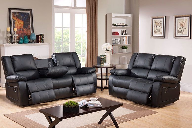 From £299 (from Furni Stop) for a Toro recliner sofa, with a limited number of the two-seater available for just £279 - save up to 68%