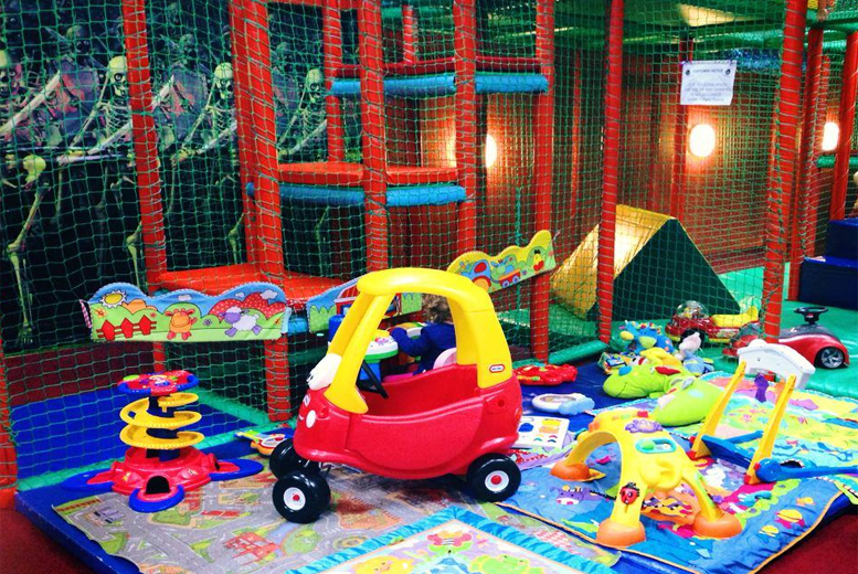 £9 instead of up to £18 for a soft play session for 2 adults & 2 children at Monkey Madness - save up to 50%