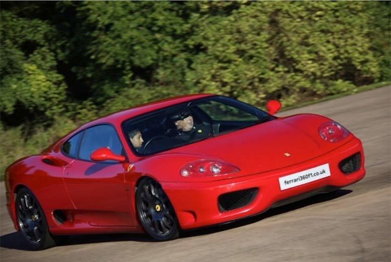 DDDeals - £49 instead of £129 for a junior supercar experience with Ferrari 360 F1, Throckmorton Airfield - get your kid behind the wheel and save 62%
