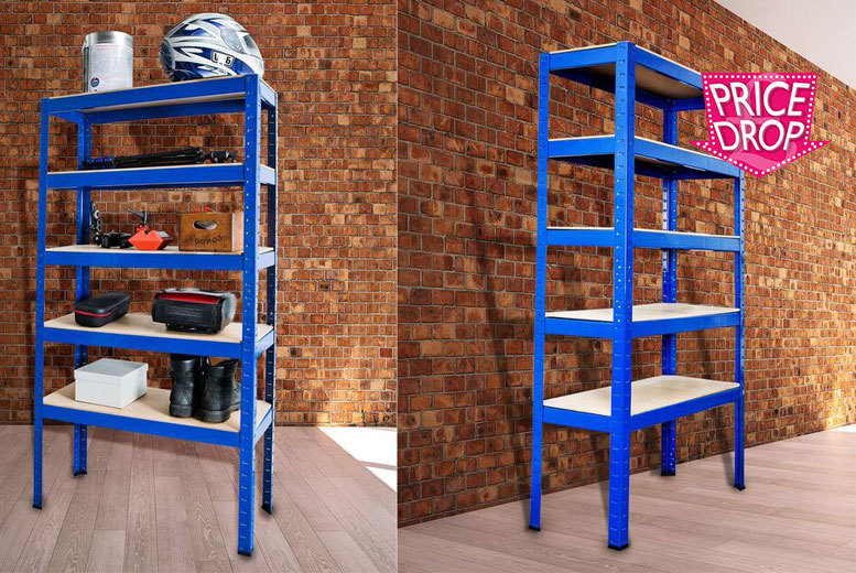 £18 instead of £189.01 (from Bootique Shop) for a five-tier racking unit - save 90%