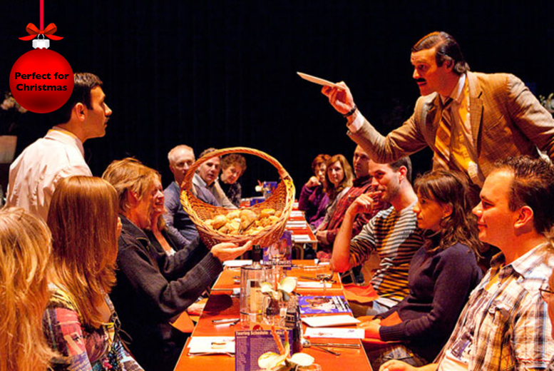 "£99 (from Buyagift) for Faulty Towers The Dining Experience: 3-course meal and show for 2 - ""Don't Mention the War!"""