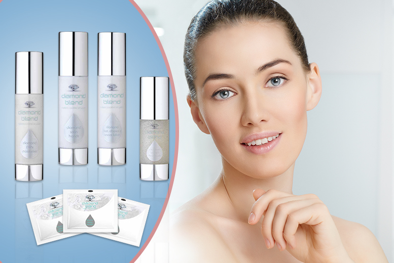 £14 instead of £190 (from Diamond Blend) for a 6-piece Diamond Blend face and body skincare gift set - save 93%