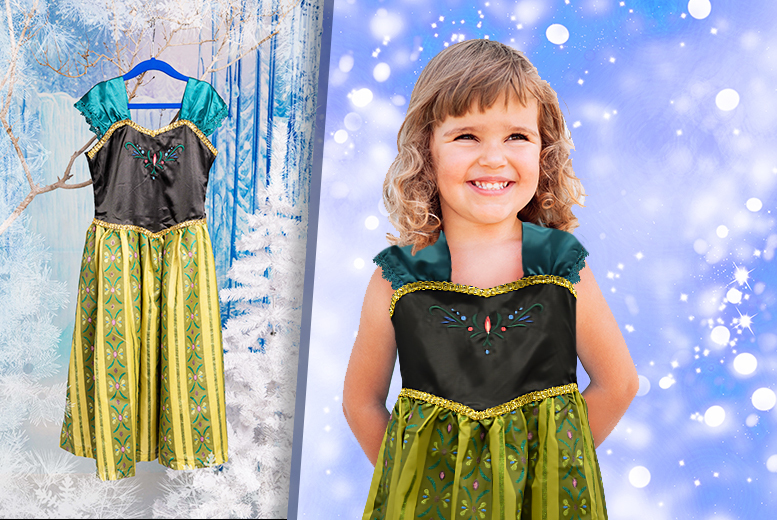 £13.99 instead of £24.95 (from Top Star Toys) for a children's Frozen-inspired dress - save 44%
