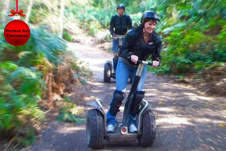 £17 instead of up to £45 for a Segway rally experience for 1 person, or £29 for 2 people with Segkind - choose from 9 locations & save up to 62%