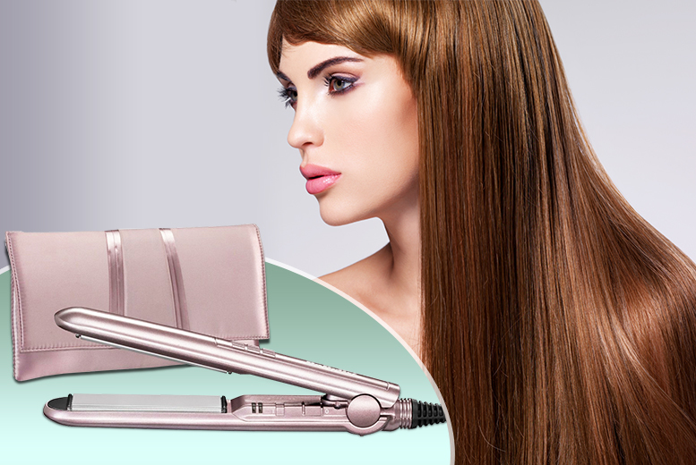 £14.99 instead of £65 (from AMS Global) for a set of Babyliss Petit Elegance straighteners - save 77%