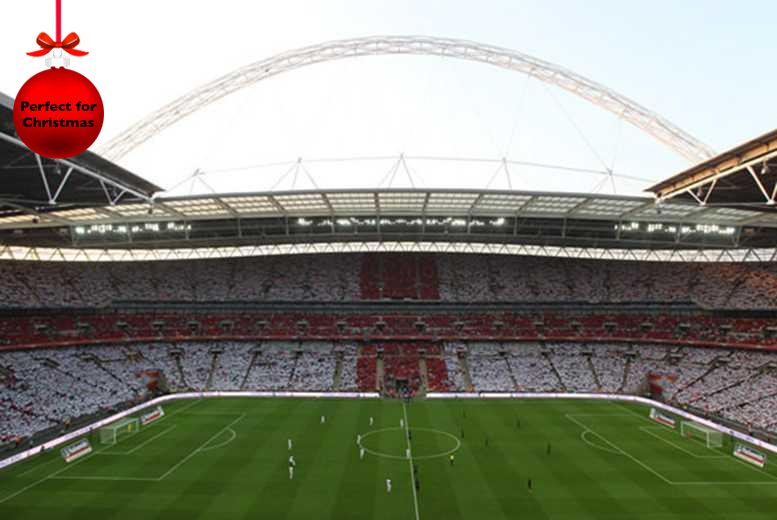 £16 instead of up to £32 for a 75-minute Wembley Stadium tour for two adults with Buyagift - save 50%