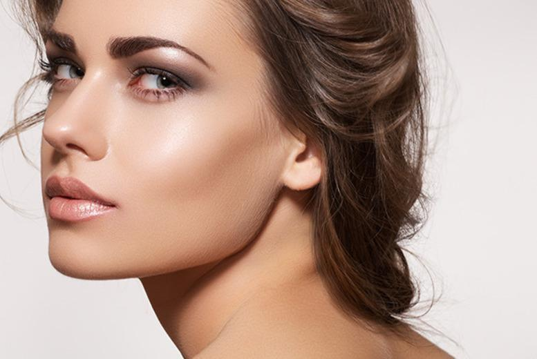 £79 instead of up to £345 for semi-permanent makeup on eyebrows or eyeliner, £129 for both at Beautie By Kam, Leicester - save up to 77%