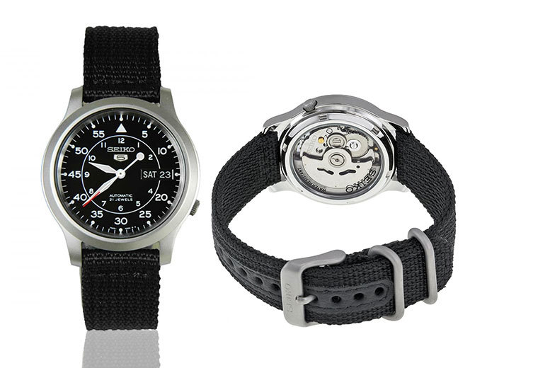 Mens Seiko Automatic Watch 4