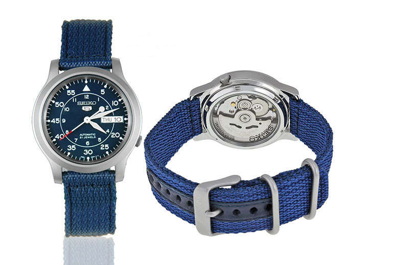 Mens Seiko Automatic Watch 2