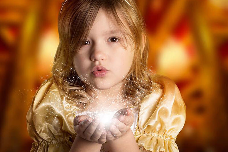 "£5 instead of £20 for a one-hour Beauty and the Beast photoshoot with a 12"" x 8"" print and keyring at F4 Photography, Wirksworth - save 75%"