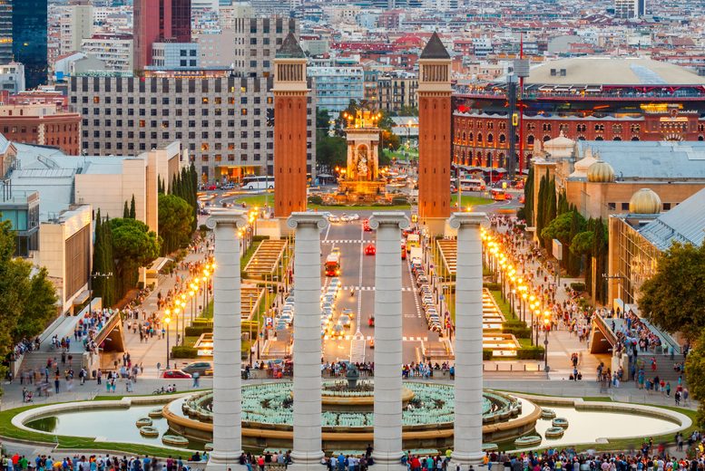 From £89pp for a two-night 4* Barcelona spa break including flights, £109pp for three nights - save up to 56%