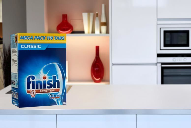 £9.99 for 110 Finish powerball dishwasher detergent tablets from Ckent Ltd