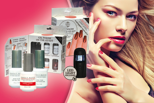 £35 instead of £65.95 (from Ideal Beauty Products) for an On the Go Gel Nail Kit inc. LED lamp or £45 for kit + 2 polishes - save up to 47%