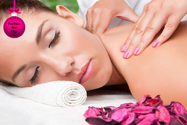 £34 for a 3-hour pamper package inc. back, neck & shoulder massage, facial, Prosecco, afternoon tea & more at J2A - save up to 74%