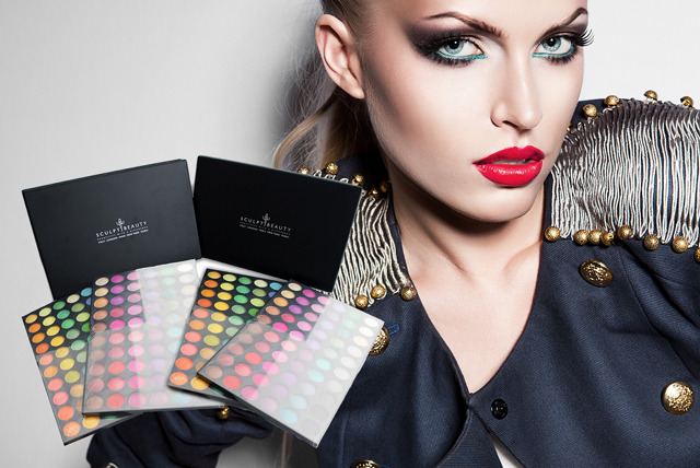 £19 instead of £39.99 (from Sculpt Beauty) for the PRO double stack eye shadow palette, or £29 with a 7-piece brush set - save up to 52%