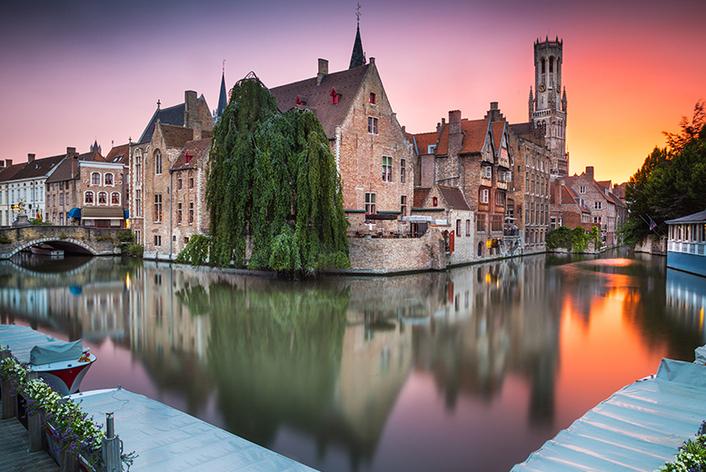£49 instead of £130 for a romantic day trip to Bruges with coach transfer from Abbey Tours - save 62%