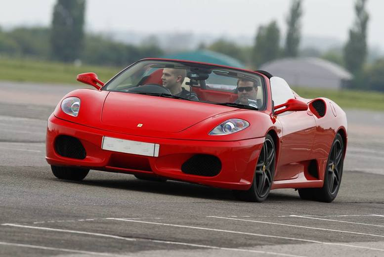 From £39 for a three lap Ferrari driving experience with Experience Limits - save up to 74%