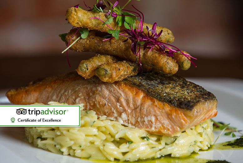 £29 instead of up to £62 for two-course bistro dining for two people with a glass of Prosecco each, £58 for four people at The Salty Dog, Bangor - save up to 53%