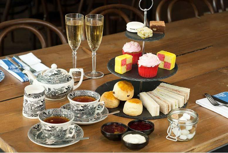 £24 for afternoon tea for two including Prosecco, £46 for four people, £66 for six people at Tophams Hotel, Belgravia - save up to 65%