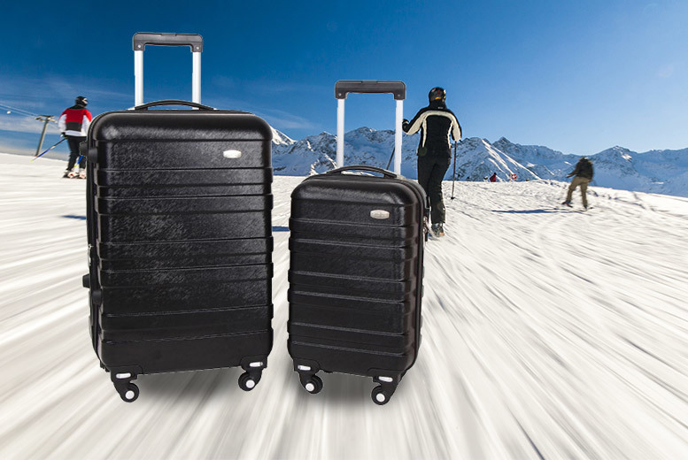 £45 instead of £399.99 (from Fakurma) for a two-piece luggage set - save 89%