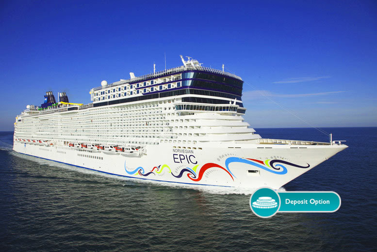 £799pp (from Jetline Cruise) for a seven-night all-inclusive Western Mediterranean cruise on board Norwegian Epic, or pay a £300 deposit today! - save up to 31%